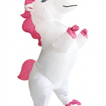 Inflatable Unicorn Halloween Mascot Costume For Adults and Children